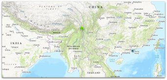 Yunnan Plant Hunting Trek | Map